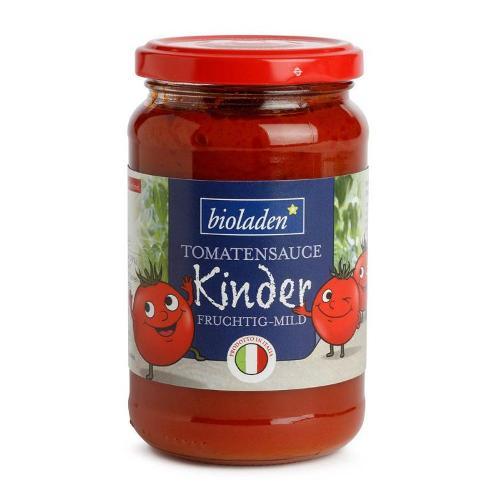 Kinder Tomatensauce mild und fruchtig von bioladen