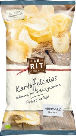 Kartoffelchips mit Meersalz von De Rit