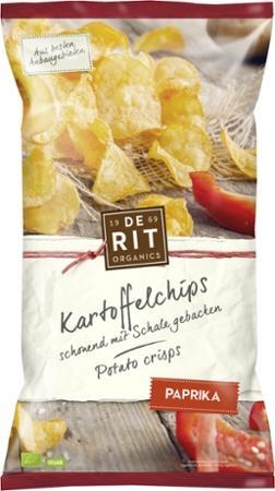 Kartoffelchips mit Paprika von De Rit