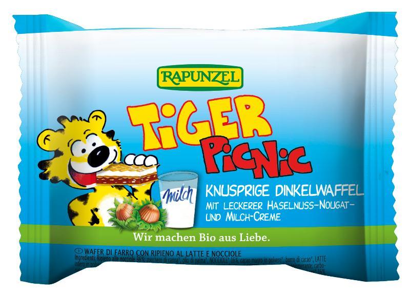 3er Pack Tiger Picnic von Rapunzel