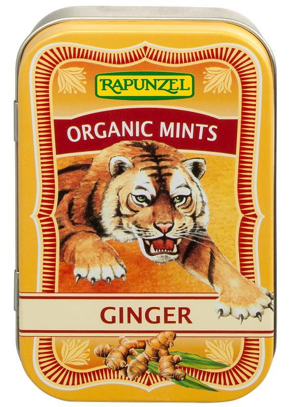 Organic Mints Ginger von Rapunzel