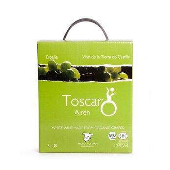 Bag in Box Toscar Airen weiß - Intensiver Geschmack nach Bananen und Birnen.