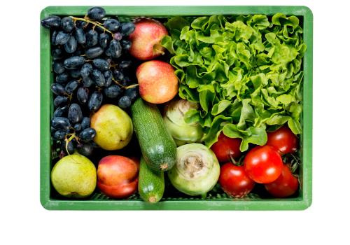 Apfel-Zucchini-Kiste