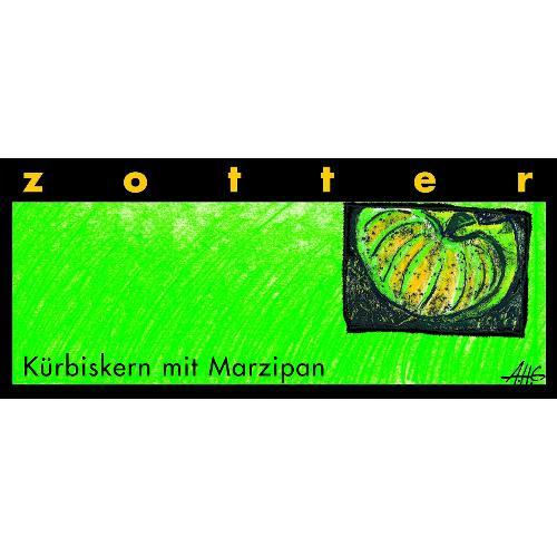 Kürbiskern mit Marzipan Schokolade 70g