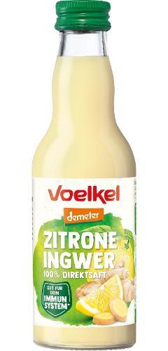 Zitrone Ingwer Saft 200ml