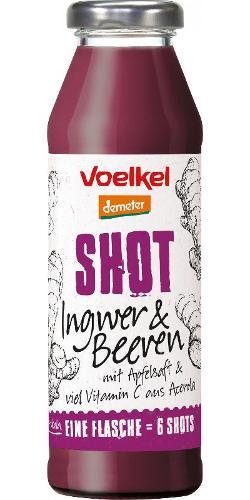 Shot Ingwer & Beeren mit Apfel 280ml