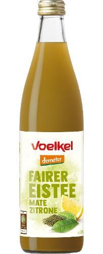Fairer Eistee Mate-Zitrone 0,5l