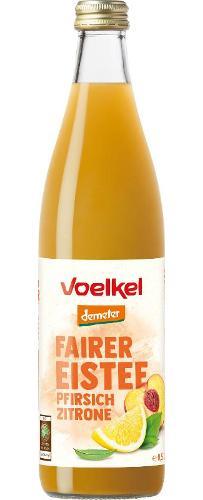 Fairer Eistee Pfirsich-Zitrone 0,5l