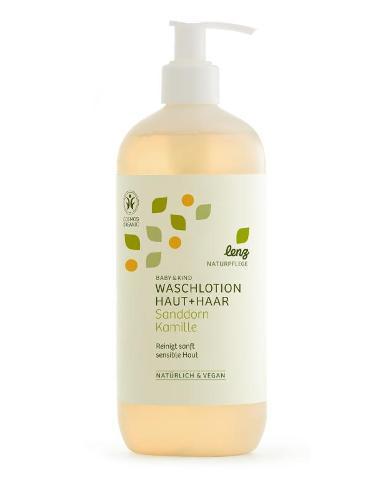 Baby Waschlotion Sanddorn Kamille 500ml