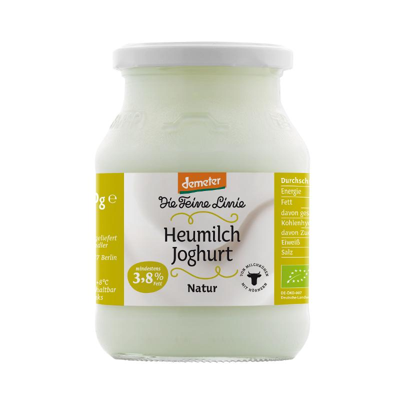 Heumilch Joghurt 3,8% 500g