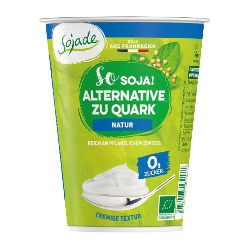 Sojade Alternative zu Quark Natur, 400g