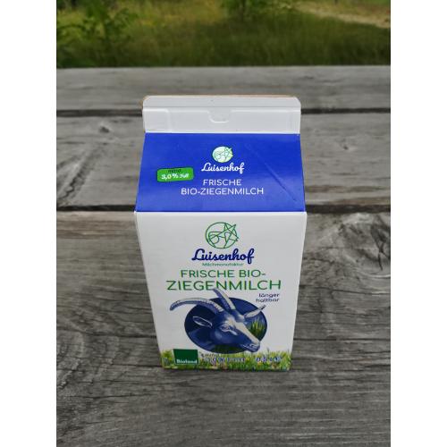 Luisenhof Ziegenmilch ESL, 0,5l