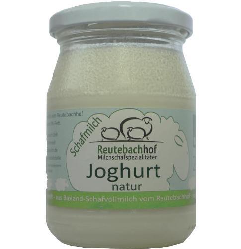 Schafjoghurt natur - im Glas 250g