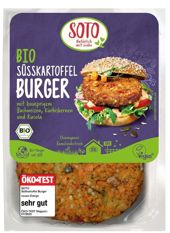 Süßkartoffelburger 160g (2St.)