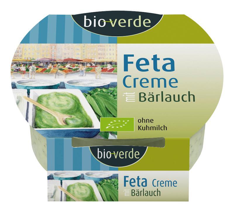 Feta Creme mit Bärlauch 125g