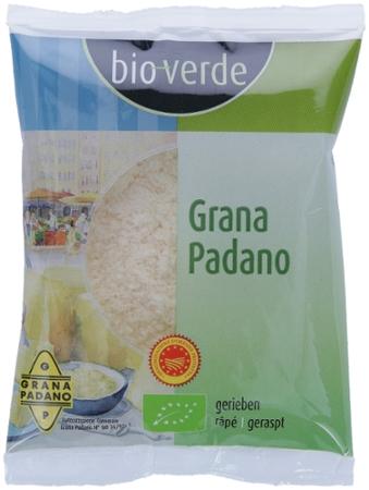 Grana Padano gerieben