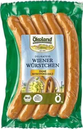 Ökoland Wiener 5 Stück (200g)