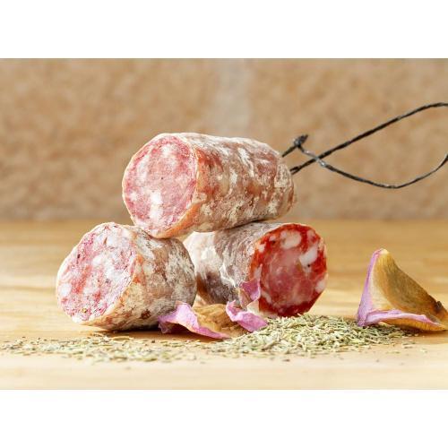 Gourmet - Salami Rosmarin und Rosenblüten 140g