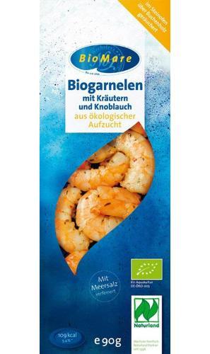 Garnelen in Kräuter-Knoblauch