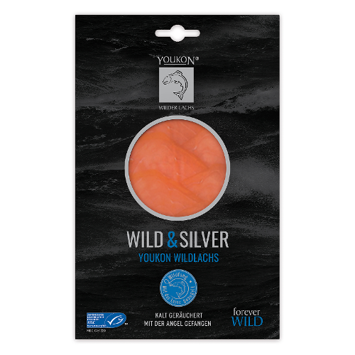 Alaska Wildlachs Wild & Silver