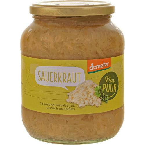 Sauerkraut im Glas 680g