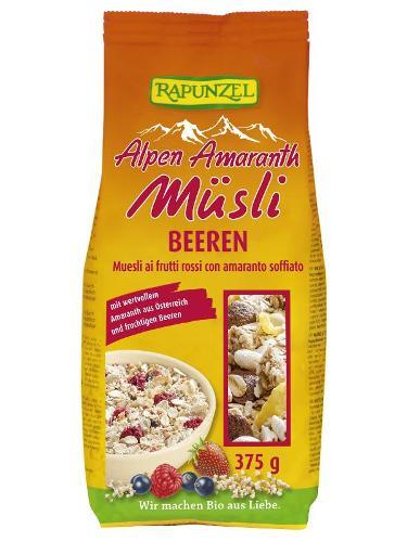 Alpen-Amaranth Müsli Beeren 375g