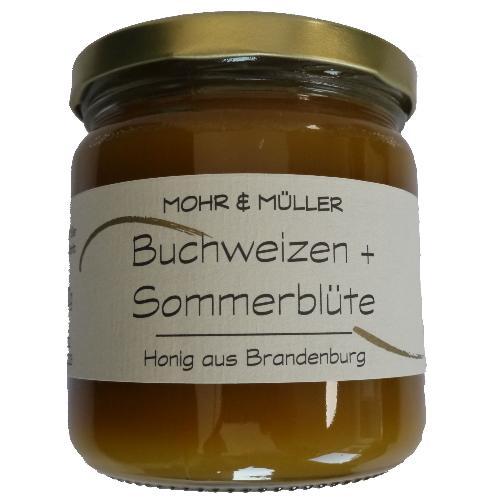 Buchweizen + Sommerblüte Honig 500g