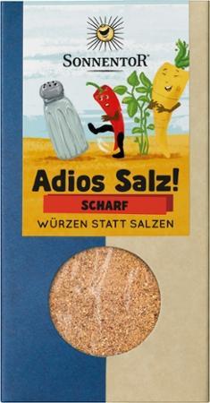 Scharfe Gemüsemischung Adios Salz