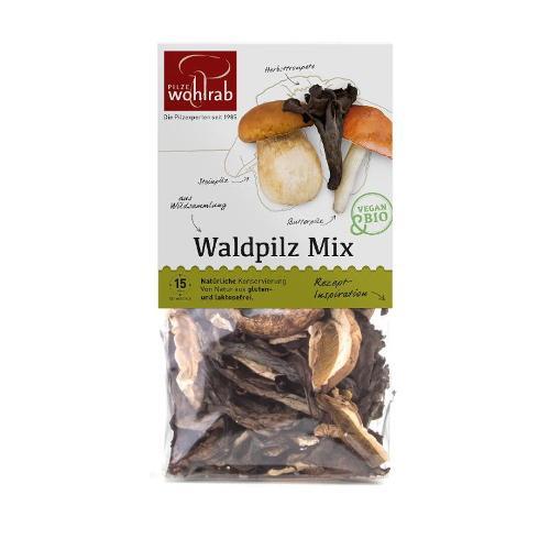 Waldpilz Mix getrocknet 30g