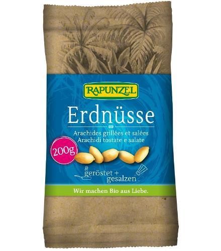 Erdnüsse geröstet & gesalzen 200g