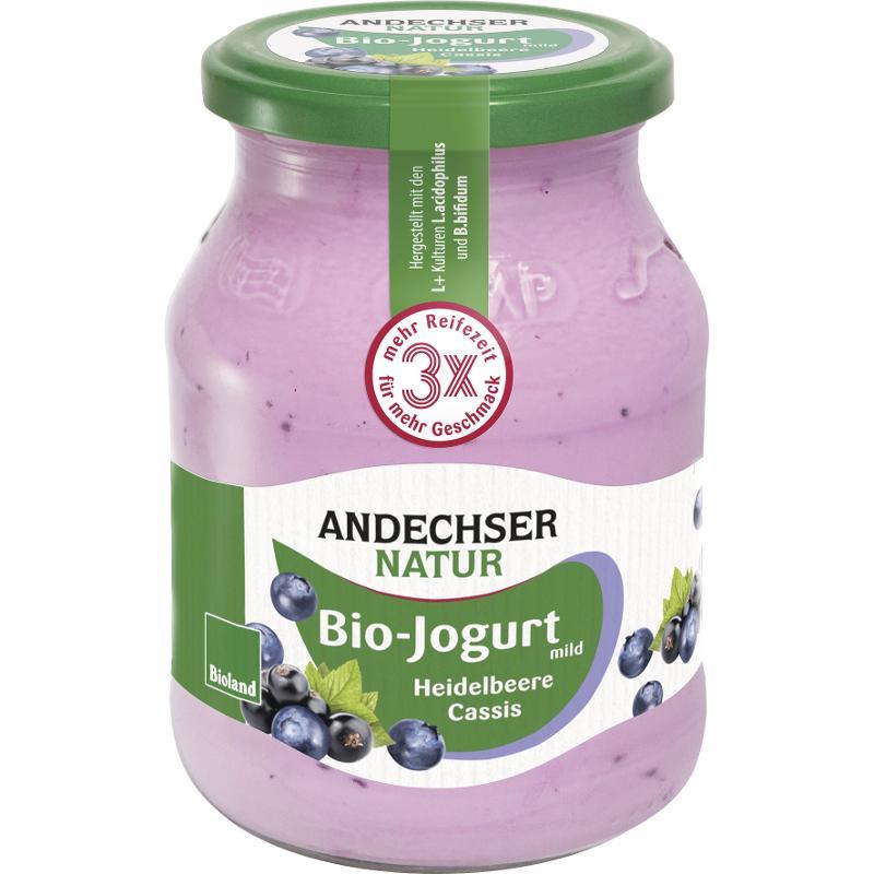 Joghurt Heidelbeere-Cassis 500