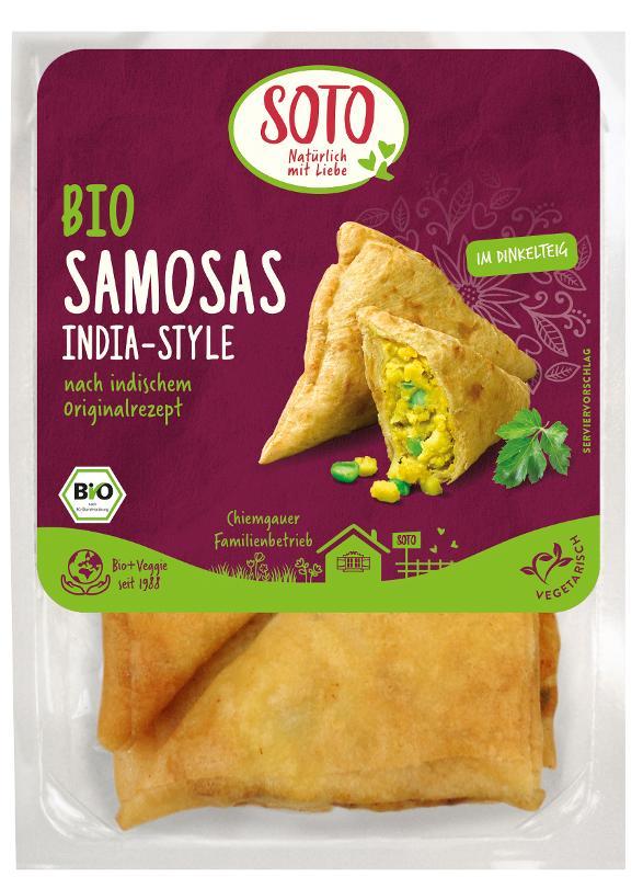 Samosas, klassisch indische Gemüseecke 250g (4St.)
