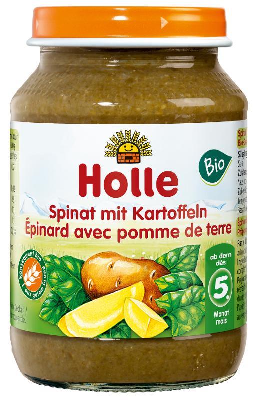 Spinat mit Kartoffeln  190g