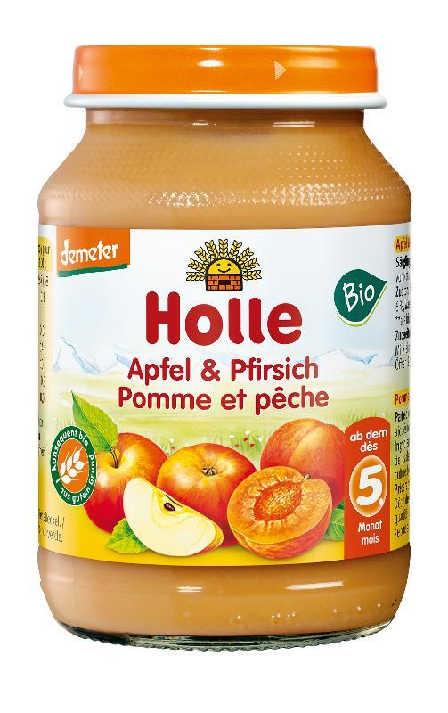 Pfirsich und Apfel  190g