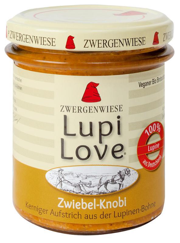 LupiLove Zwiebel Knoblauch  165g
