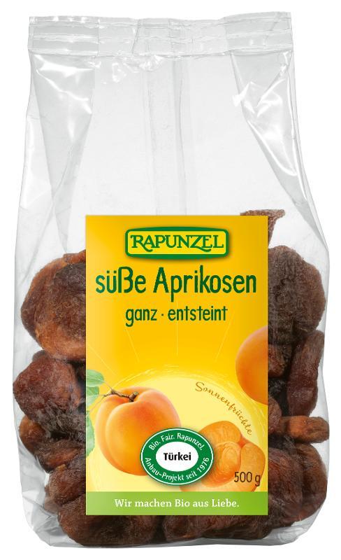 Aprikosen ganz, süß, 500g